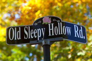 Sleepy Hollow Road sign