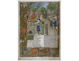 Illustration for Roman de la Rose