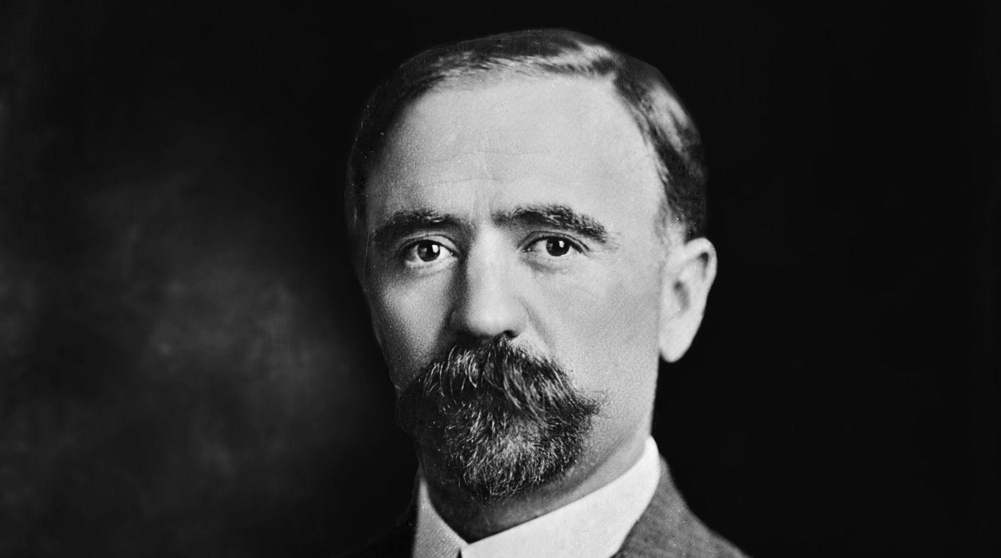 Foto retocada del ex-presidente mexicano Francisco I. Madero.
