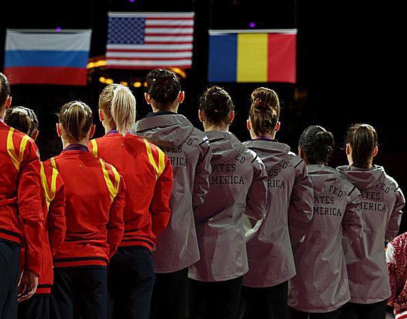 Fab Five -- Fierce Five -- Olympic Gymnastics Team