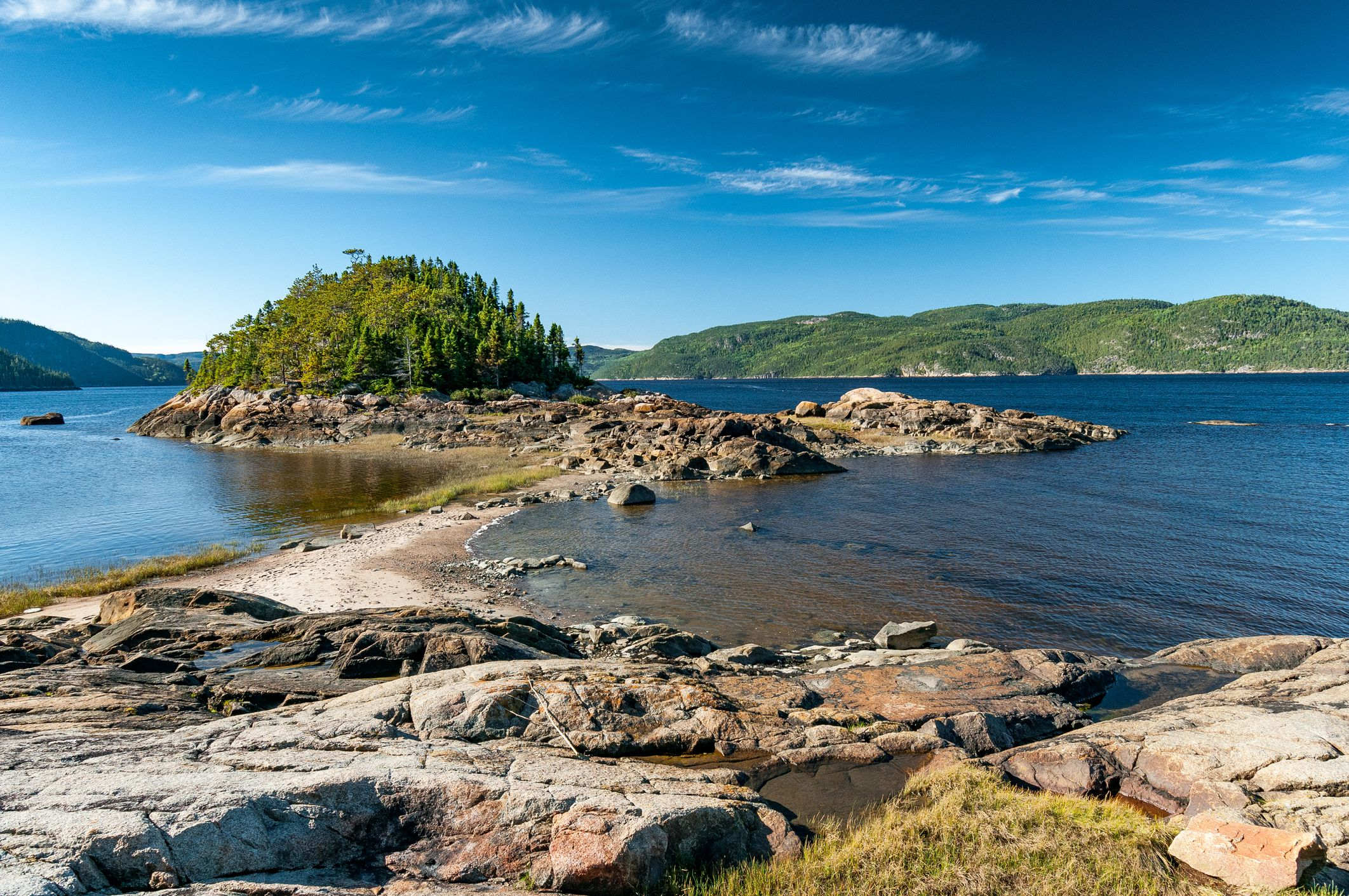 Shore of the Saguenay Fjord