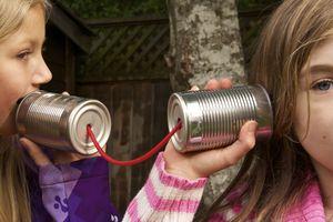 Tin can communication