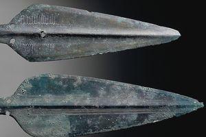 Spearheads, bronze, Sardinia, Italy, Nuragic civilization