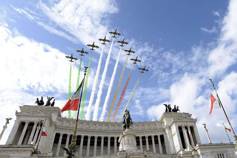 Celebration and Military Parade For The 70th Anniversary Of The Italian Republic