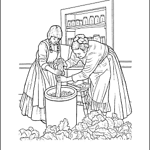 free coloring pages pioneers - photo#30
