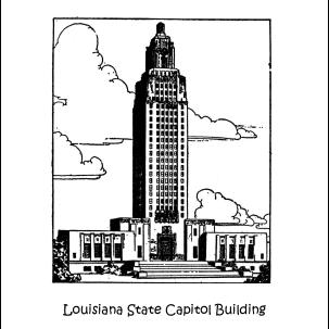 Louisiana Coloring Page
