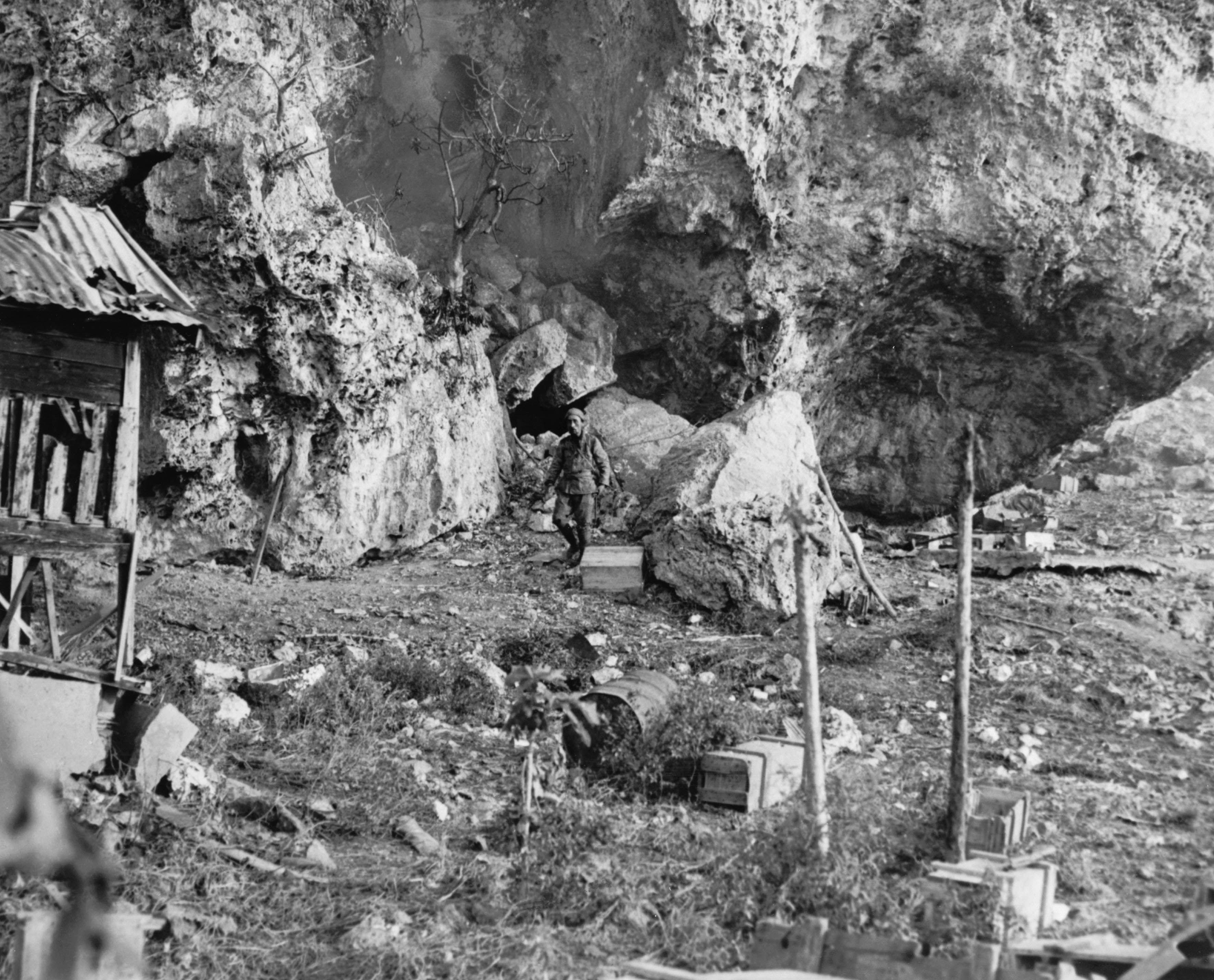 Japanese POW, Saipan