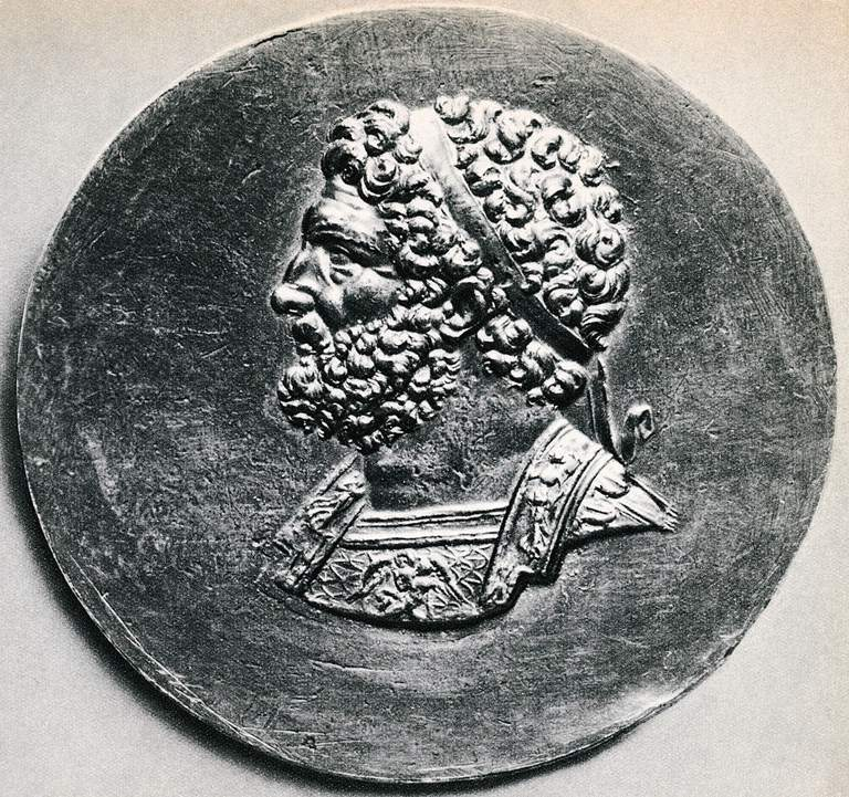 Portrait of Philip II of Macedon