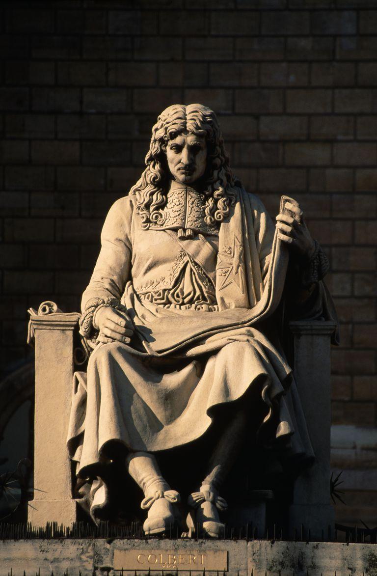 Statue of Jean-Baptiste Colbert
