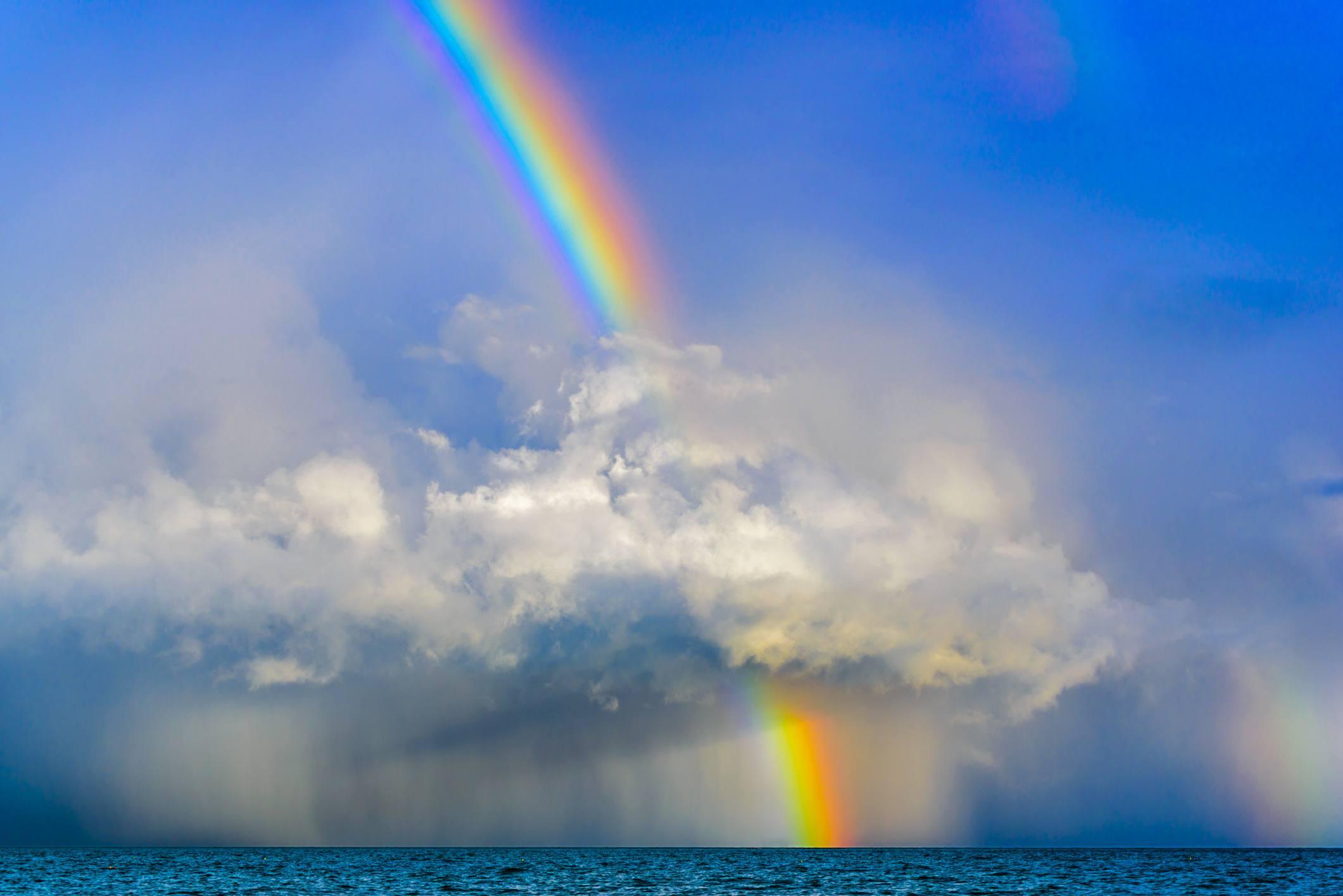 Радуги и облаков картинки