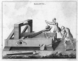 An ancient balista