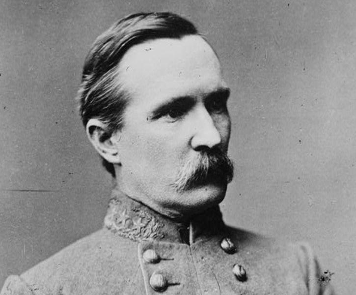 Major General Henry Heth wearing his Confederate Army uniform.