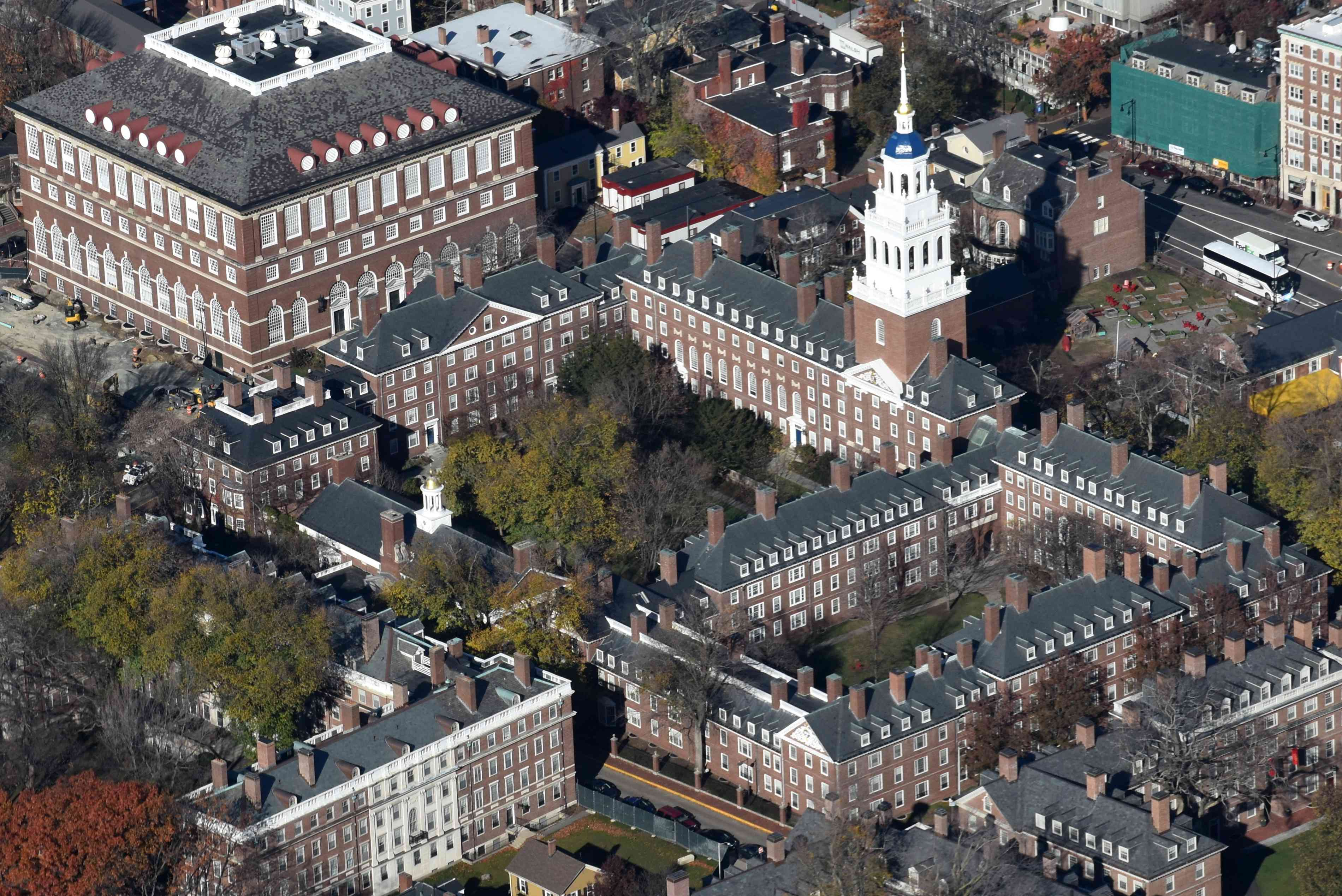 Lowell House en la Universidad de Harvard