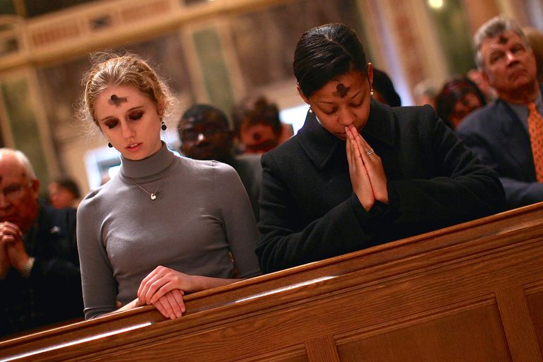 Ash Wednesday 2010, St. Matthew Cathedral, Washington, D.C. (Win McNamee/Getty Images)