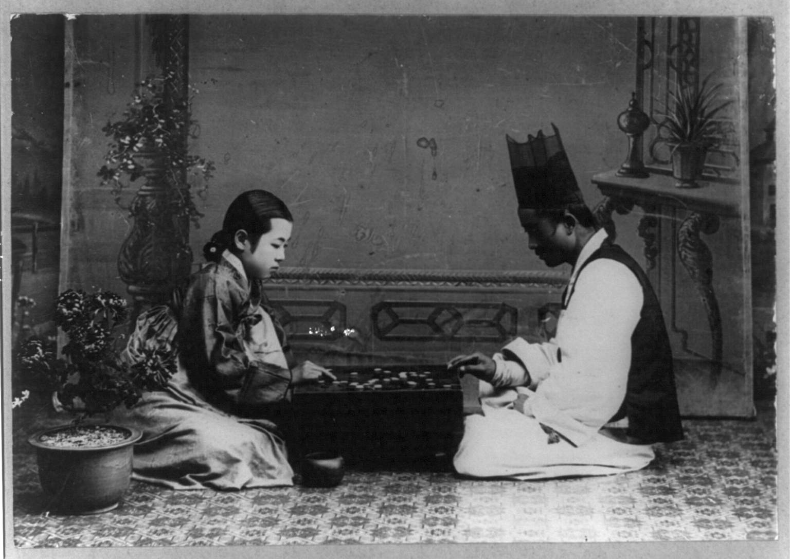 """Goban is sometimes called """"Korean chess"""""""