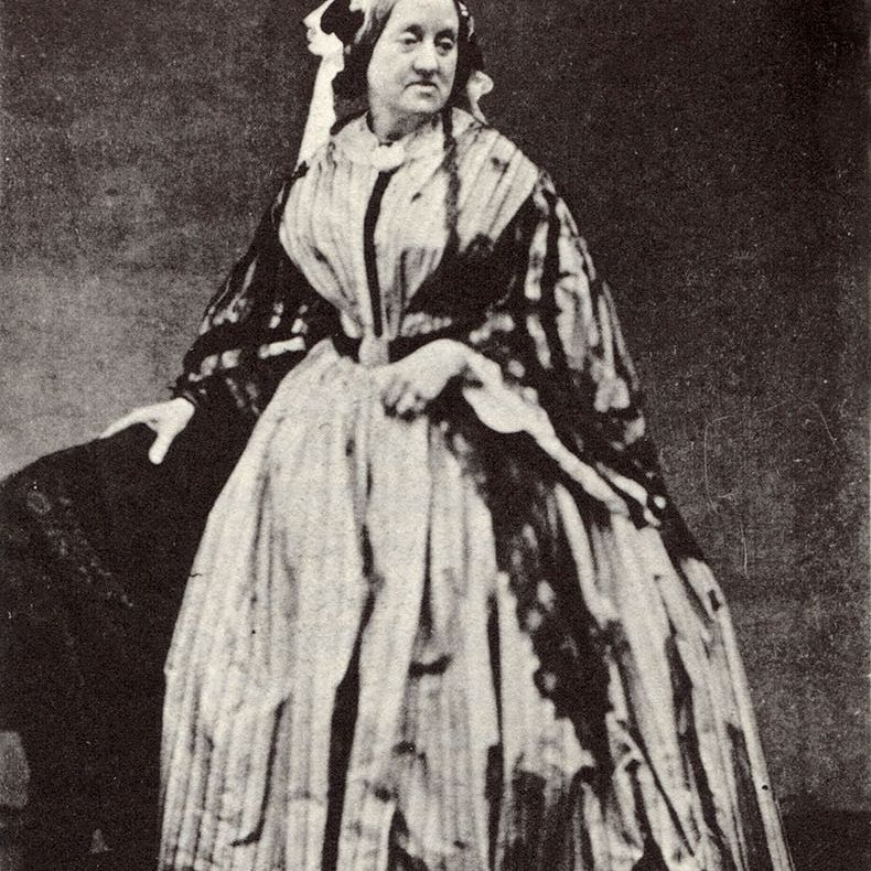 Portrait of Anna Atkins, albumen print, 1861