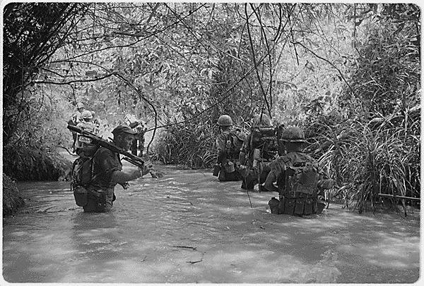 Marines at Dong Ha, Vietnam