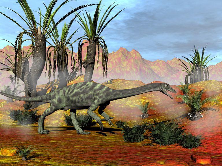 Anchisaurus 3D Render