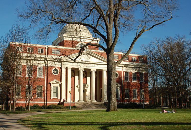 Presbyterian College Neville Hall
