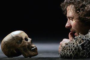 The dress rehearsal of William Shakespea