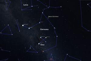 the constellation centaurus
