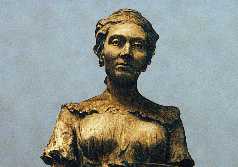 Sculpture of Sophie Germain
