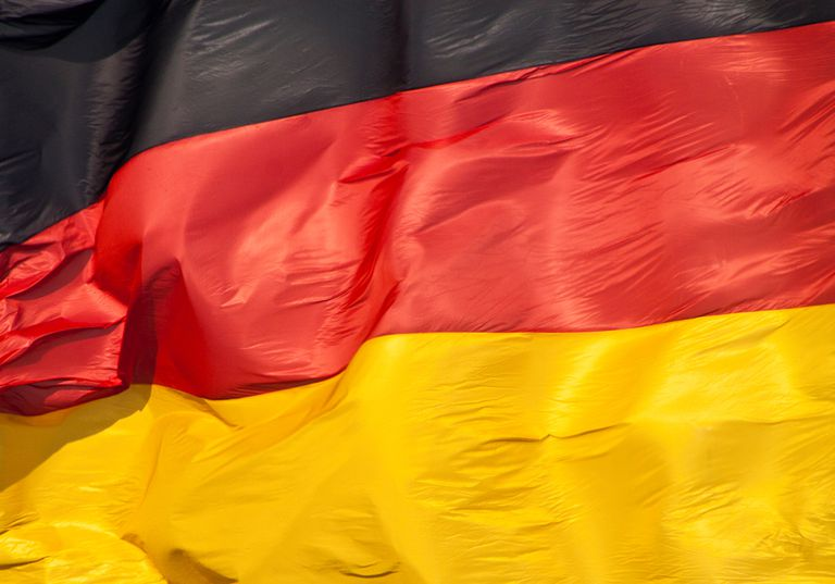 Full Frame Shot Of German Flag