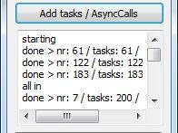 Delphi Thread Pool Example Using AsyncCalls