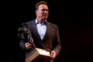 Arnold Schwarzenegger at Sports Festival 2017