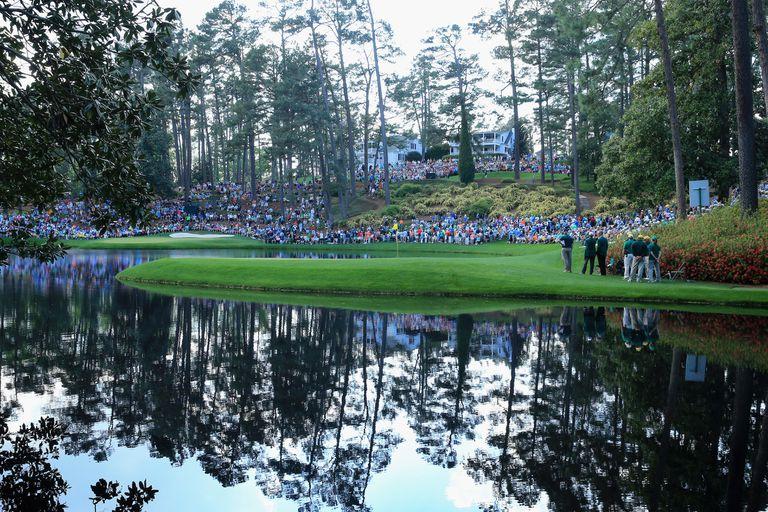 Scenic view of the Par-3 Course at Augusta National Golf Club.