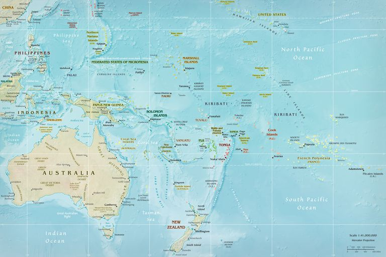 Discover Oceania\'s 14 Countries by Area