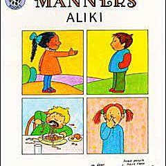 Arte de la cubierta del libro para niños Manners de Aliki