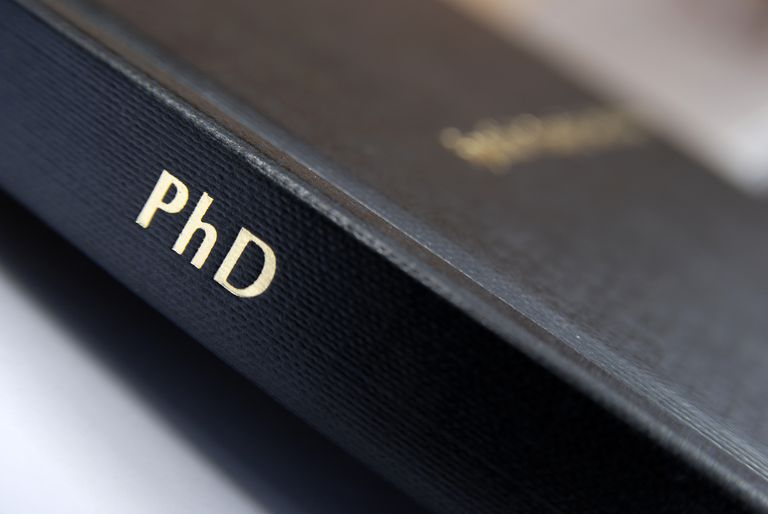 Doctorate education no dissertation