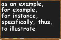 Exemplification Essay Definition