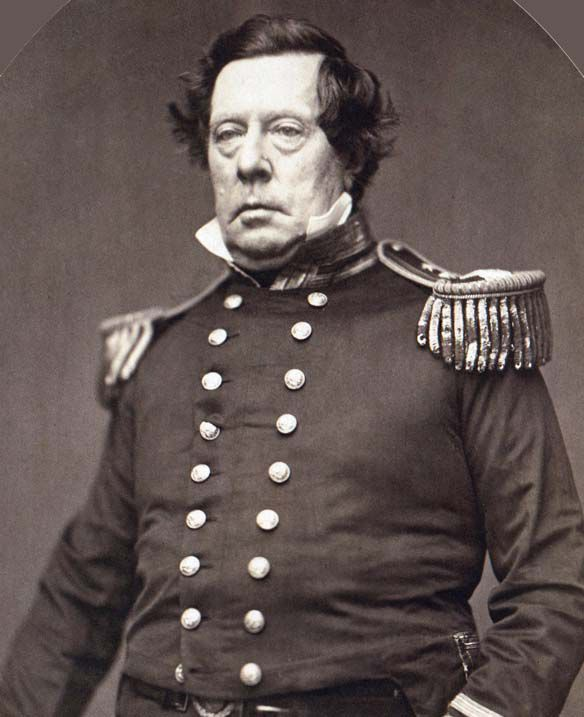 Commodore Mathew Perry