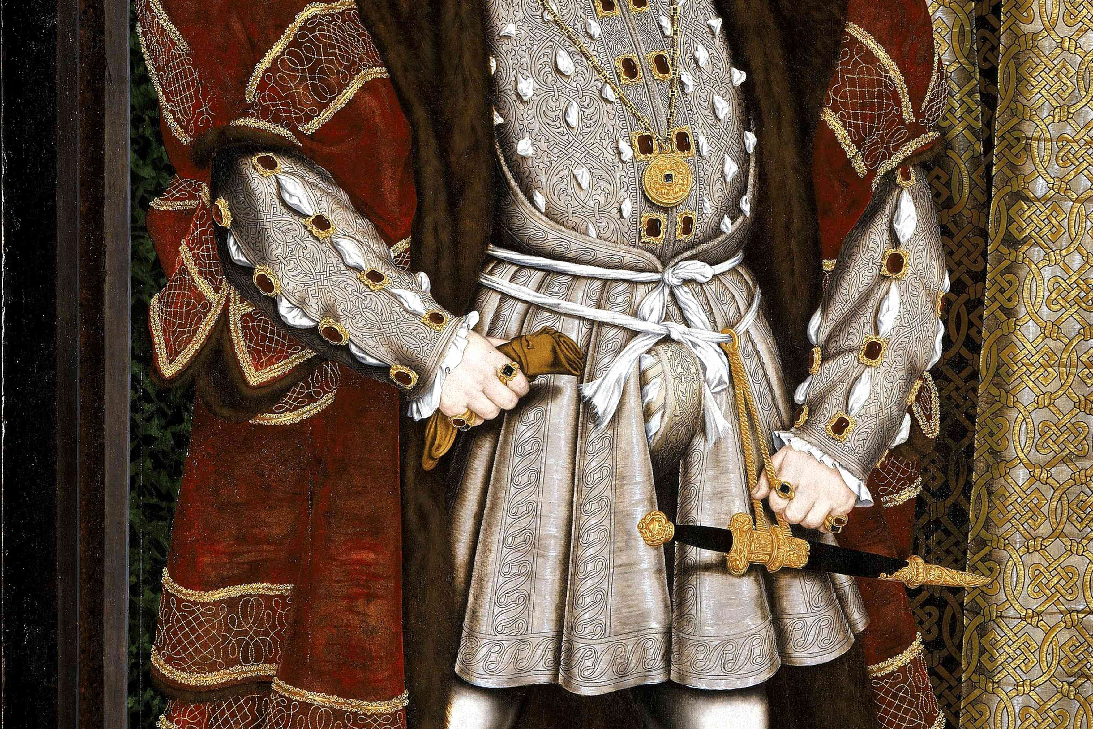 Henry VIII's notorious codpiece