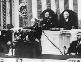 President Franklin D Roosevelt asks Congress to repeal the Neutrality Act