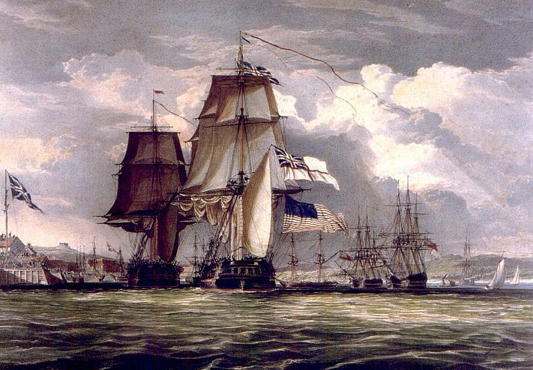 HMS Shannon und USS Chesapeake