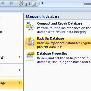 How to Back up a Microsoft Access Database