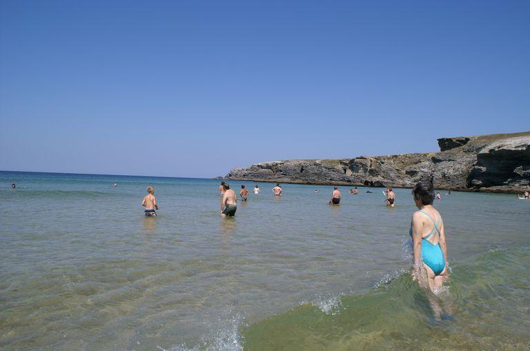 """Morbihan : Belle-île-en-mer : plage du donnant : """" la vague """""""
