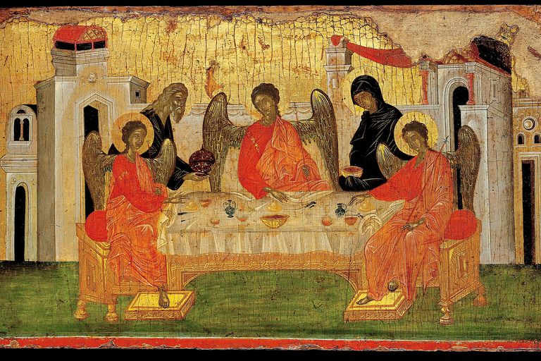 The Hospitality of Abraham (Icon of the Holy Trinity)