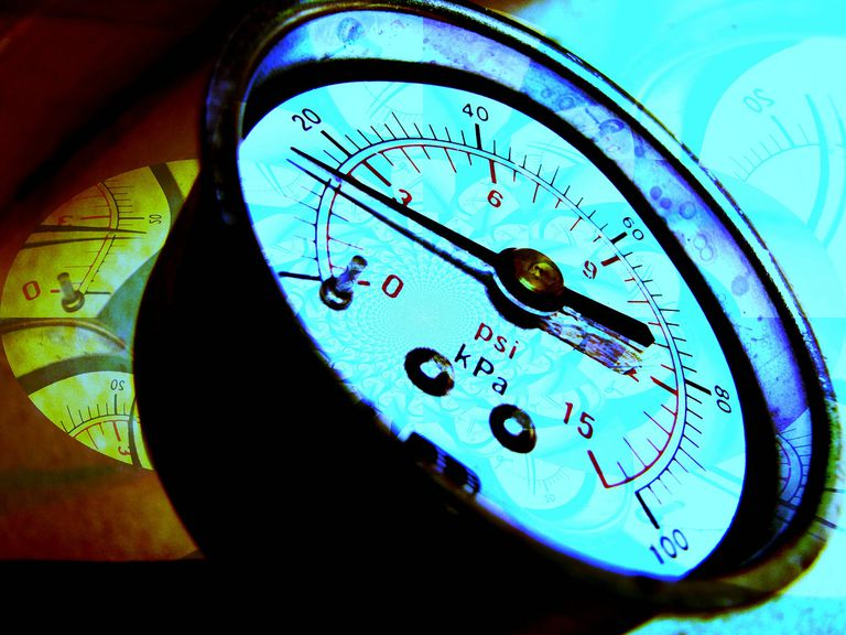 psi pressure gauge