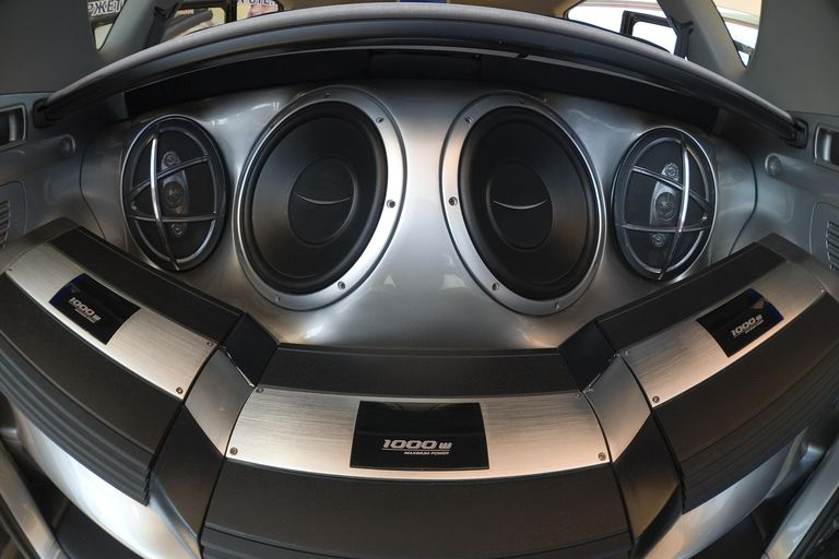 Car S And Speakers