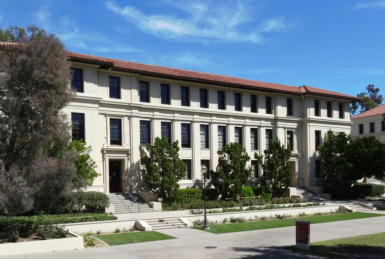 Administration building at Occidental College
