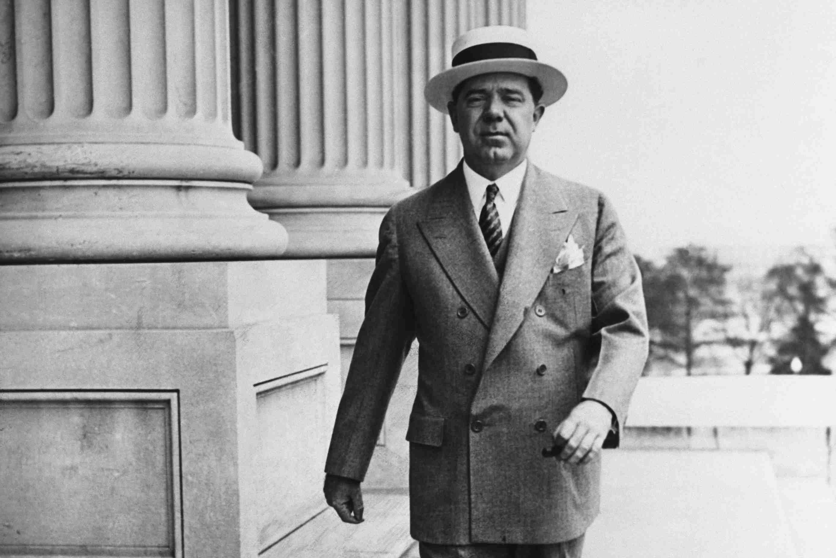 photograph of Senator Huey Long