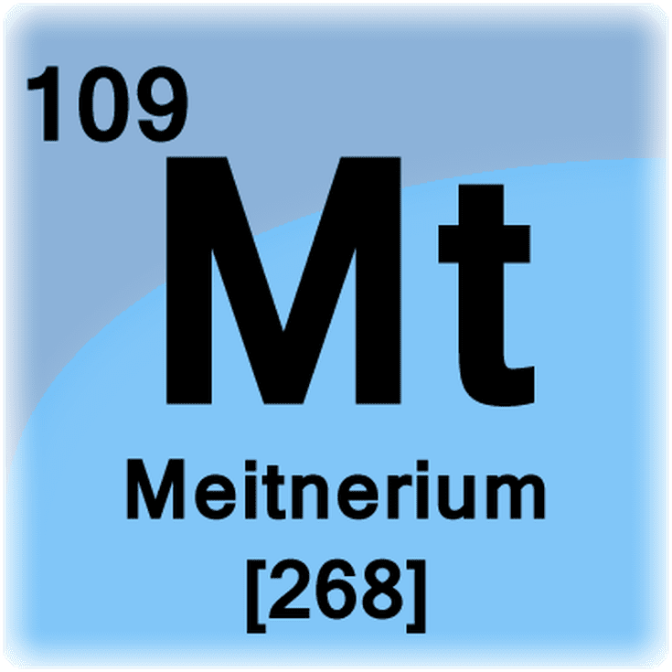 Meitnerium Facts Mt Or Element 109