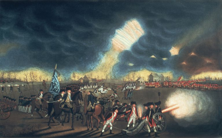 Battle of Princeton on January 3, 1777