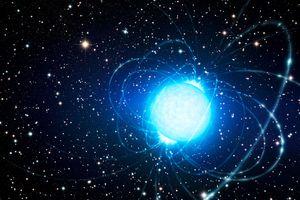 artist's concept of a magnetar