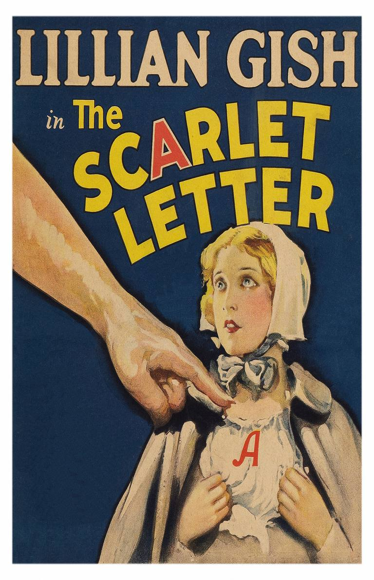Save to Board Movie Poster For 'The Scarlet Letter'
