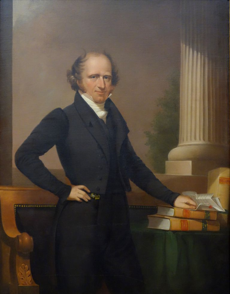 Portrait of Martin Van Buren by Ezra Ames